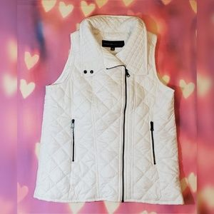 Marc New York Andrew Marc White Puffer Vest
